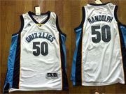 Mens Nba Memphis Grizzlies #50 Randolph White Jersey