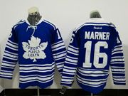 Mens Reebok Nhl Nhl Toronto Maple Leafs #16 Mitch Marner Blue Winter Heritage Classic Ice Hockey Jersey