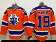 Mens Reebok Nhl Edmonton Oilers #19 Patrick Maroon Orange Ice Hockey Jersey