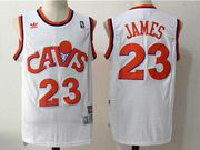 Mens Adidas Nba Cleveland Cavaliers #23 Lebron James Cavs White Basketball Jersey