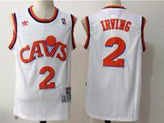 Mens Adidas Nba Cleveland Cavaliers #2 Kyrie Irving Cavs White Basketball Jersey