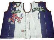 Mens   Nba Toronto Raptors #1 Tracy Mcgrady Purple Swingman Jersey