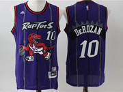 Mens Nba Toronto Raptors #10 Derozan Purple Mesh Jersey