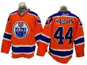 Mens Reebok Nhl Edmonton Oilers #44 Zack Kassian Orange Ice Hockey Jersey