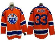 Mens Reebok Nhl Edmonton Oilers #33 Cam Talbot Orange Ice Hockey Jersey
