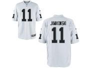 Mens Nfl Oakland Raiders #11 Sebastian Janikowski White Game Jersey