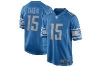 Mens Nfl Detroit Lions #15 Golden Tate Blue 2017 Game Jersey