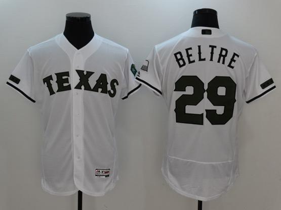 Mens Majestic Mlb Texas Rangers #29 Adrian Beltre 2017 Memorial Day Flex Base Jersey