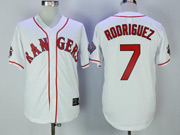 Mens Mlb Washington Nationals #7 Ivan Rodriguez White Throwback Cool Base Jersey