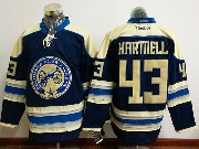 Mens Reebok Nhl Columbus Blue Jackets #43 Scott Hartnell Blue Alternate Premier Jersey