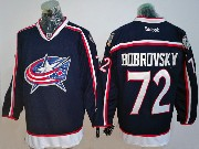 Mens Reebok Nhl Columbus Blue Jackets #72 Sergei Bobrovsky Blue Home Premier Jersey