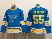 Youth Reebok St.louis Blues #55 Colton Parayko Blue 2017 Winter Classic Jersey