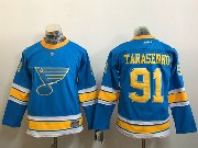 Youth Reebok St.louis Blues #91 Vladimir Tarasenko Blue 2017 Winter Classic Jersey