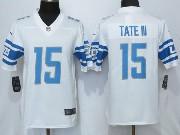 Mens Nfl Detroit Lions #15 Golden Tate 2017 Vapor Untouchable Limited White Jersey