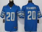 Mens Nfl Detroit Lions #20 Barry Sanders 2017 Vapor Untouchable Limited Blue Jersey