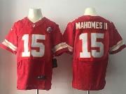 Mens Nfl Kansas City Chiefs #15 Patrick Mahomes Ii Red Elite Jersey