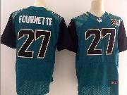 Mens Nfl   Jacksonville Jaguars #27 Leonard Fournette Green Elite Jersey