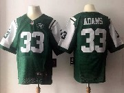 Mens Nfl New York Jets #33 Jamal Adams Green Elite Jersey