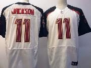 Mens Nfl Tampa Bay Buccaneers #11 Desean Jackson White Elite Jersey