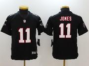 Youth Nfl Atlanta Falcons #11 Julio Jones Black Vapor Untouchable Limited Jersey