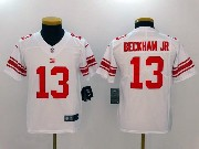 Youth Nfl New York Giants #13 Odell Beckham Jr White Vapor Untouchable Limited Jersey