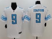 Mens Nfl Detroit Lions #9 Matthew Stafford White Vapor Untouchable Limited Jersey