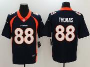 Mens Nfl Denver Broncos #88 Demaryius Thomas Blue Vapor Untouchable Limited Jersey