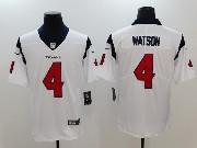 Mens Houston Texans #4 Deshaun Watson White Vapor Untouchable Limited Jersey