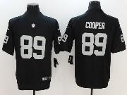 Mens Nfl Oakland Raiders #89 Amari Cooper Black Vapor Untouchable Limited Jersey