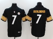 Mens Nfl Pittsburgh Steelers #7 Ben Roethlisberger Vapor Untouchable Limited Jersey