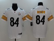 Mens Nfl Pittsburgh Steelers #84 Antonio Brown White Vapor Untouchable Limited Jersey
