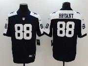 Mens Dallas Cowboys #88 Dez Bryant Blue Thanksgiving Vapor Untouchable Limited Jersey