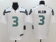 Mens Nfl Seattle Seahawks #3 Russell Wilson White Vapor Untouchable Limited Jersey