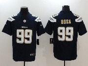 Mens   San Diego Chargers #99 Joey Bosa Dark Blue Vapor Untouchable Limited Jersey