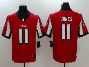 Mens Nfl Atlanta Falcons #11 Julio Jones Red Vapor Untouchable Limited Jersey