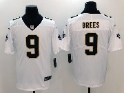 Mens Nfl New Orleans Saints #9 Drew Brees White Vapor Untouchable Limited Jersey