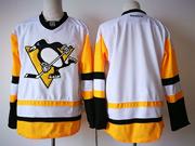 Mens Reebok Nhl Pittsburgh Penguins Blank Away Premier White Jersey