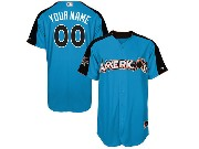 Mens Women Youth 2017 Mlb All Star Game American Light Blue Cool Bass Jersey