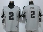 Mens Nfl Atlanta Falcons #2 Matt Ryan Grey Limited Jersey