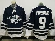 Mens Reebok Nhl Nashville Predators #9 Filip Forsberg Dark Blue Jersey