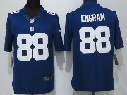 Mens New York Giants #88 Evan Engram Blue Limited Jersey