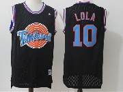 Mens Nba Space Jam Tune Squad #10 Lola Black Jersey