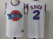 Mens Nba Space Jam Tune Squad #2 D.duck White Jersey