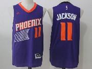 Mens Nba Phoenix Suns #11 Josh Jackson Purple Road Jersey