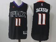 Mens Nba Phoenix Suns #11 Josh Jackson Black Alternate Jersey