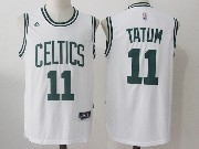 Mens Nba Boston Celtics #11 Jayson Tatum White Home Jersey