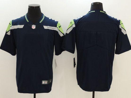 Nfl Mens Women Youth Seattle Seahawks Custom Made Blue Vapor Untouchable Limited Jersey