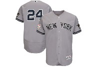 Mens Mlb New York Yankees #24 Gary Sanchez Grey All Star Flex Base Jersey