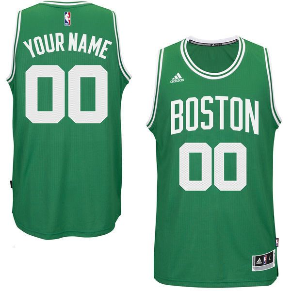 Mens Women Youth Nba Boston Celtics Custom Made Boston Green Jersey
