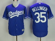 Mens Mlb Los Angeles Dodgers #35 Cody Bellinger Blue Cool Base Jersey